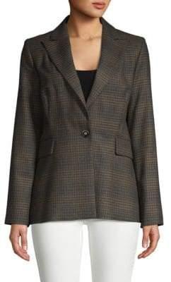 Carolina Herrera Wool Tweed Blazer