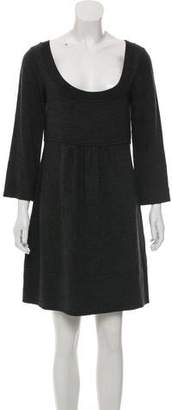 Diane von Furstenberg Merino Wool Mini Dress