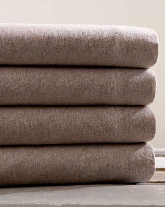 Belle Epoque Heather Overdyed Flannel Sheet Set