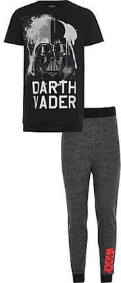 River Island Boys black Star Wars pajama set