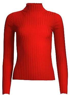 A.L.C. Women's Lamont Merino Long-Sleeve Knit Sweater
