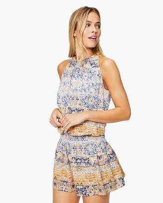 Ramy Brook Paris Sleeveless Printed Dress