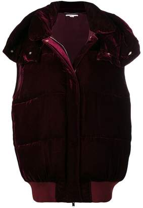 Stella McCartney loose bomber jacket