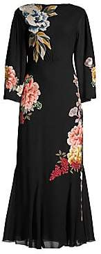 Etro Women's Floral Embroidered Dress