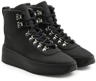 Fear Of God High Top Leather Hiking Sneakers