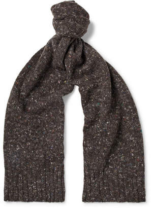 Anderson & Sheppard Donegal Virgin Wool And Cashmere-Blend Scarf