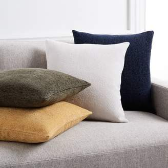 west elm Textured Boucle Pillow Covers