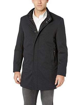 Hart Schaffner Marx Men's Bryce 3/4 Length Technical Raincoat