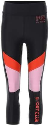 P.E Nation First Innings cropped leggings