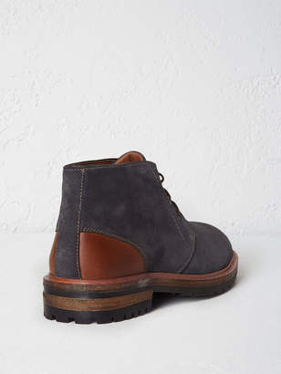 White Stuff Cleated Suede Worker Boot