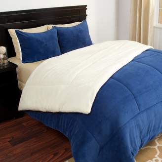 Kohl's Portsmouth Home Sherpa Fleece Comforter Set