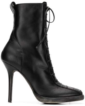 Haider Ackermann lace-up boots