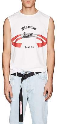 """Helmut Lang RE-EDITION Men's """"Diamond Head"""" Cotton Muscle T-Shirt"""