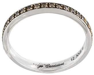 Ugo Cacciatori brown diamond set ring