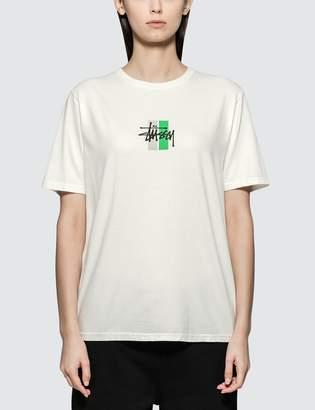 Stussy 2 Bar Stock Pig. Dyed T-shirt