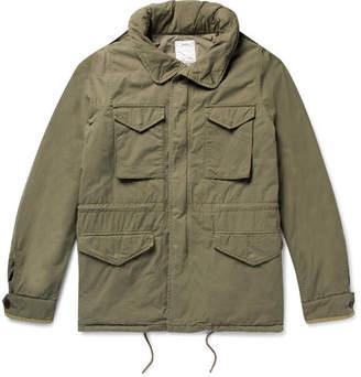 Visvim Cotton-Blend Hooded Field Jacket