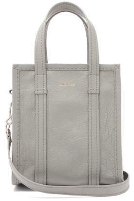 Balenciaga Bazar Shopper Xxs - Womens - Light Grey