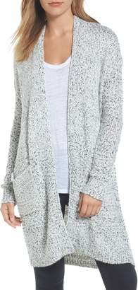 Caslon Mixed Stitch Long Cardigan