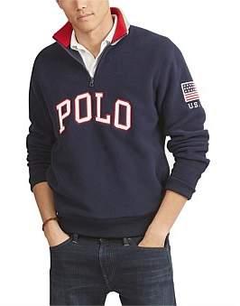 Polo Ralph Lauren Mens Long Sleeve Knit Polar Fleece