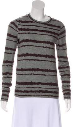A.L.C. Printed Crew Neck Sweater