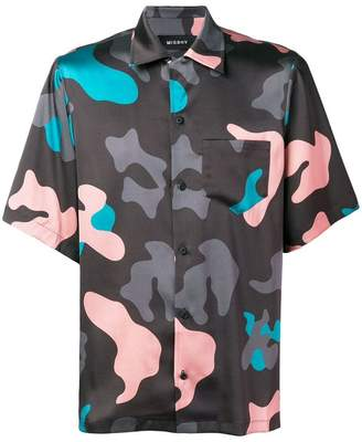 Misbhv camouflage print shirt