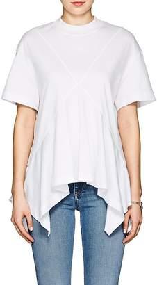 Cédric Charlier Women's Cotton Jersey Handkerchief T-Shirt