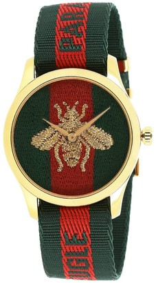 Gucci Watch Le Marché Des Merveilles Watch Case 38mm Web Bee Pattern