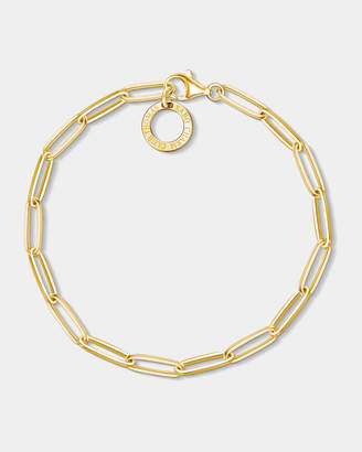 Thomas Sabo Yellow Gold Plated Long Link Bracelet