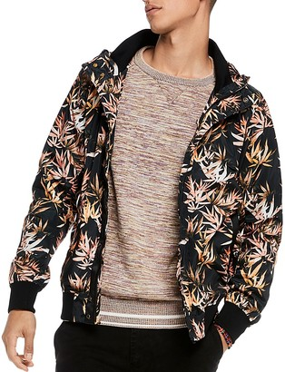 Scotch & Soda Floral Hooded Jacket $195 thestylecure.com