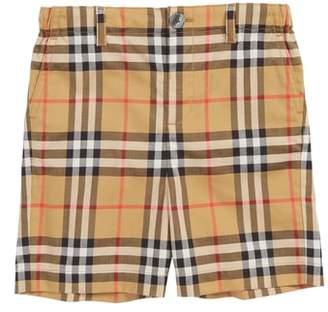 Burberry Sean Check Shorts