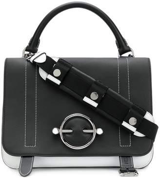 J.W.Anderson two tone satchel bag