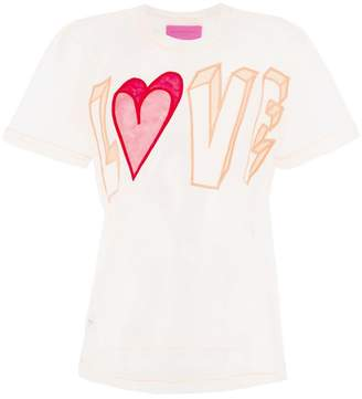 Viktor & Rolf Love slogan T-shirt