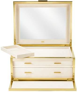AERIN Luxe Shagreen Jewellery Box