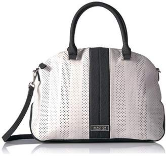 Kenneth Cole Reaction Annabelle Striped Dome Satchel