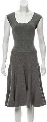 Michael Kors Sleeveless Midi Knit Dress