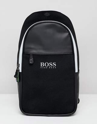 BOSS Lightec Monostrap Backpack in Black