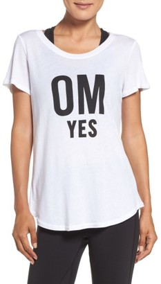 Women's Alo Graphic Tee $62 thestylecure.com