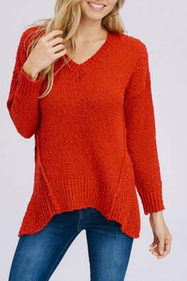 Modern Emporium Cherry Red Sweater