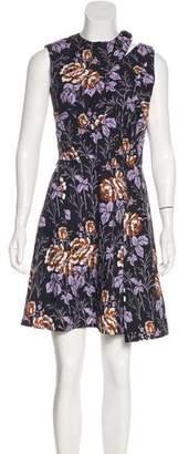 Victoria Beckham Floral Print Sleeveless Dress w/ Tags