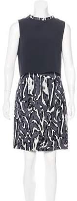 Proenza Schouler Jacquard Knee-Length Dress