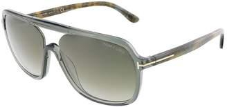 Tom Ford Robert Sunglasses FT0442 96B | Olive/Havana Frame | Lens
