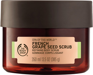 The Body Shop Spa Of The World French Grape Seed Scrub