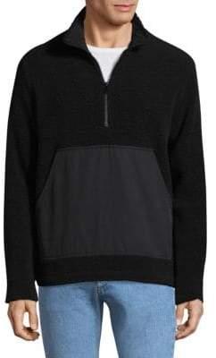 A.P.C. O-Top Wool-Blend Jacket