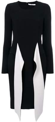 Givenchy contrast belt dress