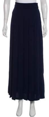 Nomia Pleated Maxi Skirt