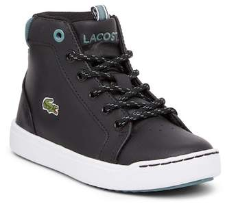 Lacoste Explorateur High Top Sneaker (Little Kid)
