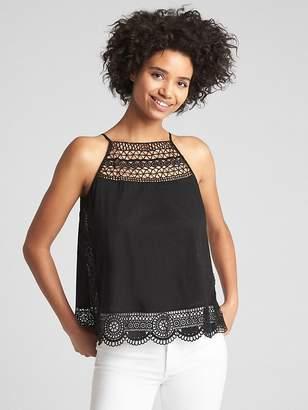 Gap Crochet Detail Cami