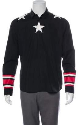 Givenchy Star Print Shirt