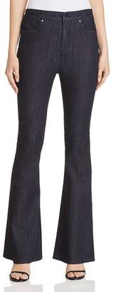 Elie Tahari Leone Flared Jeans in Indigo