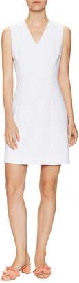 Kate Spade V-Neck Crepe A-Line Dress